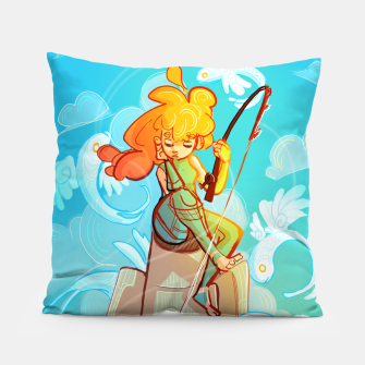 Thumbnail image of Skyfisher Pillow, Live Heroes