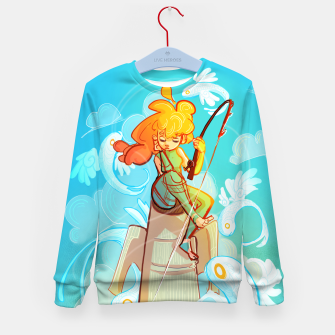 Thumbnail image of Skyfisher Kid's Sweater, Live Heroes