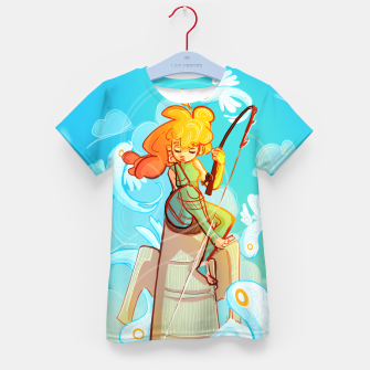 Thumbnail image of Skyfisher Kid's T-shirt, Live Heroes