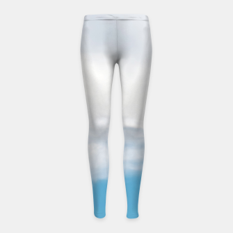 Thumbnail image of Giraffe neck and head against the clear blue sky Girl's Leggings, Live Heroes