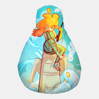 Thumbnail image of Skyfisher Pouf, Live Heroes