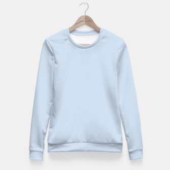 Thumbnail image of Pastel Color - Light Azureish Gray Taillierte Sweatshirt, Live Heroes