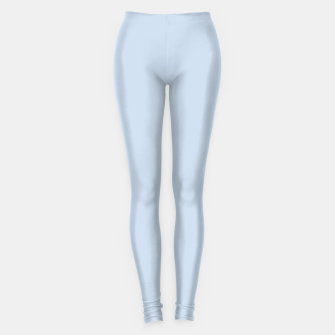 Thumbnail image of Pastel Color - Light Azureish Gray Leggings, Live Heroes