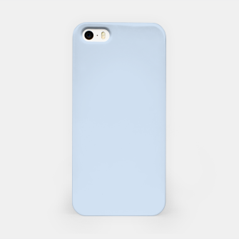 Thumbnail image of Pastel Color - Light Azureish Gray iPhone-Hülle, Live Heroes