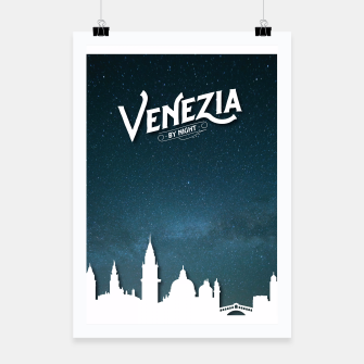 Thumbnail image of Venezia by Night Poster, Live Heroes
