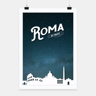 Thumbnail image of Roma by night Poster, Live Heroes