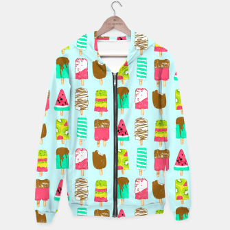 Thumbnail image of Ice Cream Time Hoodie, Live Heroes