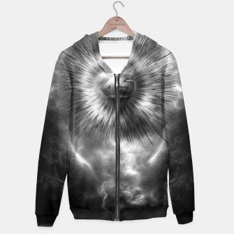 Thumbnail image of A-Synchronous Ethereal Clouds Hoodie, Live Heroes