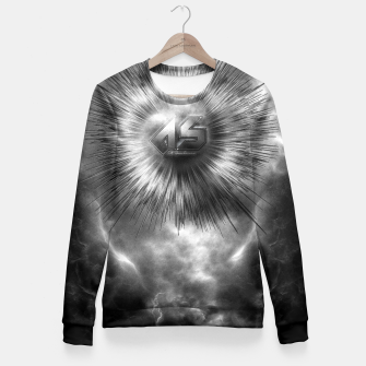 A-Synchronous Ethereal Clouds Fitted Waist Sweater thumbnail image