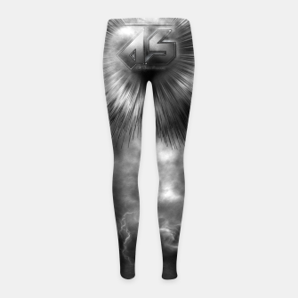 Thumbnail image of A-Synchronous Ethereal Clouds Girl's Leggings, Live Heroes