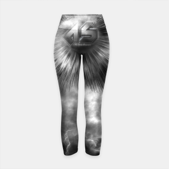 Thumbnail image of A-Synchronous Ethereal Clouds Yoga Pants, Live Heroes