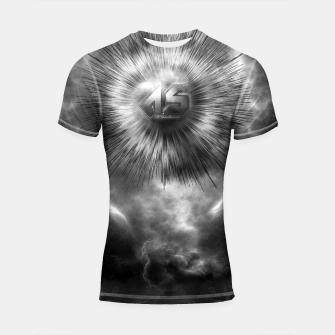 Thumbnail image of A-Synchronous Ethereal Clouds Shortsleeve Rashguard, Live Heroes