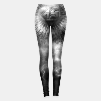 A-Synchronous Ethereal Clouds Leggings thumbnail image