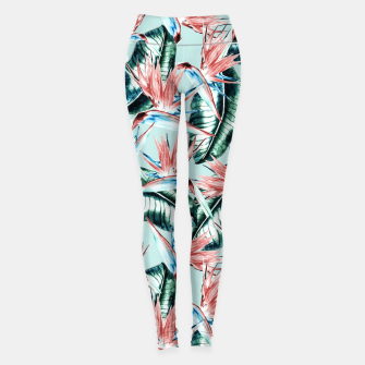 Thumbnail image of Pattern botanical II Leggings, Live Heroes