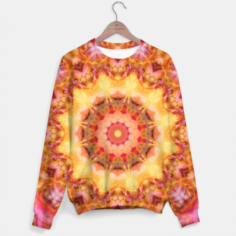 Thumbnail image of Be Free Mandala Sweater, Live Heroes