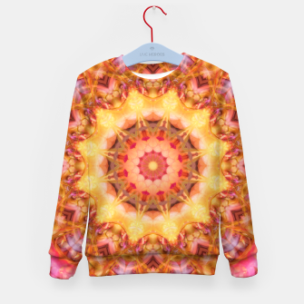 Thumbnail image of Be Free Mandala Kid's Sweater, Live Heroes