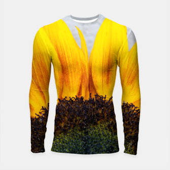 Thumbnail image of Blooming sunflower. Conceptual image Sun Rising Longsleeve Rashguard , Live Heroes