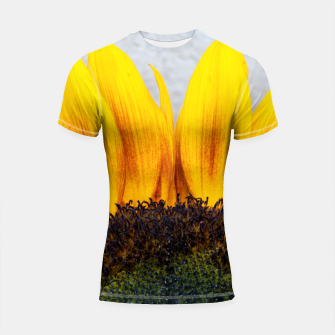 Thumbnail image of Blooming sunflower. Conceptual image Sun Rising Shortsleeve Rashguard, Live Heroes