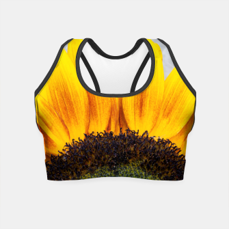 Thumbnail image of Blooming sunflower. Conceptual image Sun Rising Crop Top, Live Heroes
