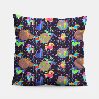 Thumbnail image of Space doggies Pillow, Live Heroes