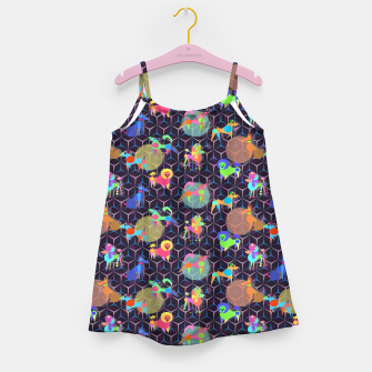 Thumbnail image of Space doggies Girl's Dress, Live Heroes