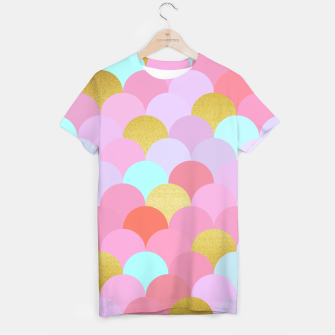 Thumbnail image of Golden and colorful spheres T-shirt, Live Heroes