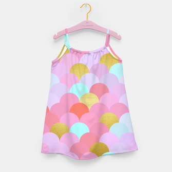 Miniaturka Golden and colorful spheres Girl's Dress, Live Heroes