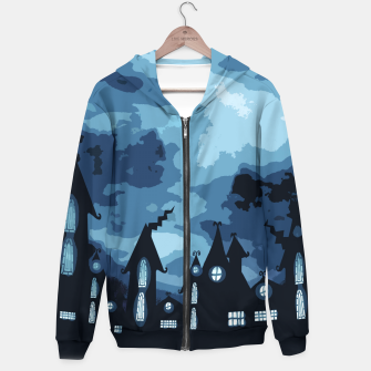 Thumbnail image of Mysterious night Hoodie, Live Heroes