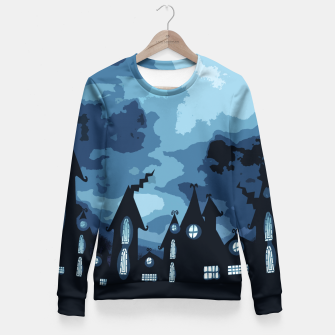 Thumbnail image of Mysterious night Fitted Waist Sweater, Live Heroes