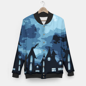 Thumbnail image of Mysterious night Baseball Jacket, Live Heroes