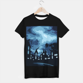 Thumbnail image of Mysterious night T-shirt regular, Live Heroes