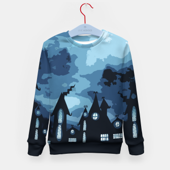 Thumbnail image of Mysterious night Kid's Sweater, Live Heroes