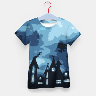 Thumbnail image of Mysterious night Kid's T-shirt, Live Heroes