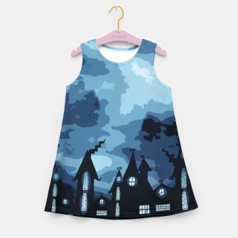 Thumbnail image of Mysterious night Girl's Summer Dress, Live Heroes