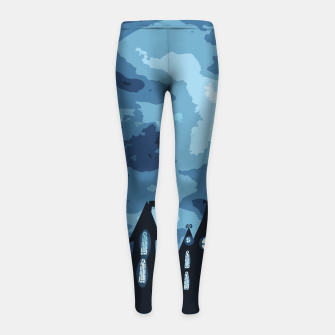 Thumbnail image of Mysterious night Girl's Leggings, Live Heroes