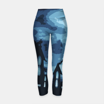 Thumbnail image of Mysterious night Yoga Pants, Live Heroes