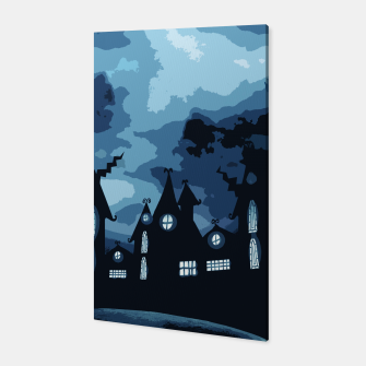 Thumbnail image of Mysterious night Canvas, Live Heroes