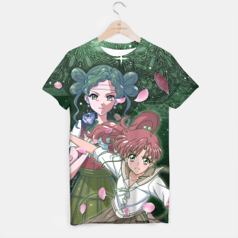 Miniaturka Sailor Moon Crystal Makoto VS Tellu T-shirt, Live Heroes