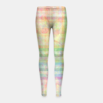 Thumbnail image of color Girl's Leggings, Live Heroes