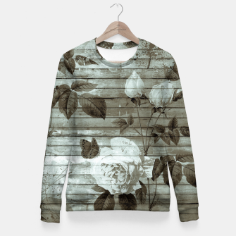 Thumbnail image of Sepia Shabby chic Fitted Waist Sweater, Live Heroes
