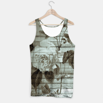 Thumbnail image of Sepia Shabby chic Tank Top, Live Heroes