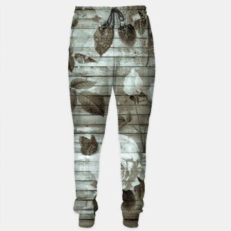 Thumbnail image of Sepia Shabby chic Sweatpants, Live Heroes