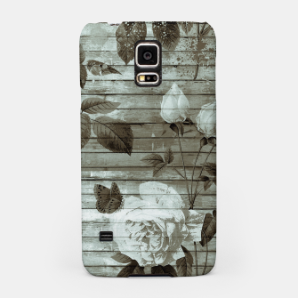 Thumbnail image of Sepia Shabby chic Samsung Case, Live Heroes