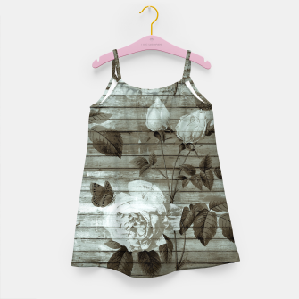 Thumbnail image of Sepia Shabby chic Girl's Dress, Live Heroes