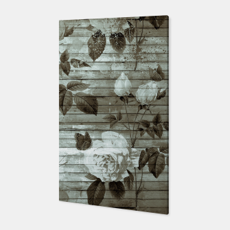 Thumbnail image of Sepia Shabby chic Canvas, Live Heroes