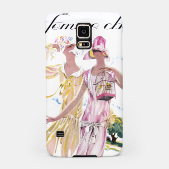Thumbnail image of la femme chic Samsung Case, Live Heroes