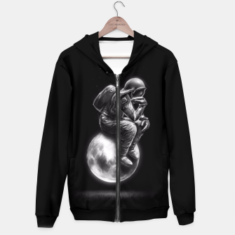 Thumbnail image of Space Thinker Hoodie, Live Heroes