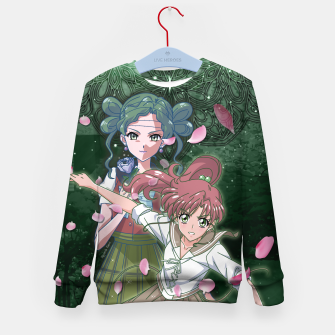 Miniaturka Sailor Moon Crystal Makoto VS Tellu Kid's Sweater, Live Heroes