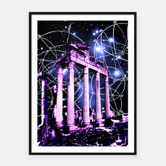 Thumbnail image of Astronomy Framed poster, Live Heroes