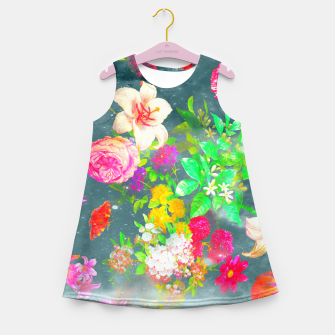 Imagen en miniatura de  Fun garden Girl's Summer Dress, Live Heroes
